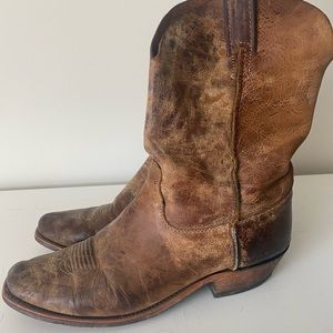 Justin Cowboy Boots - Genuine leather